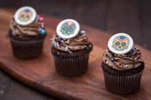 Dia de los Muertos Parisian Cupcake
