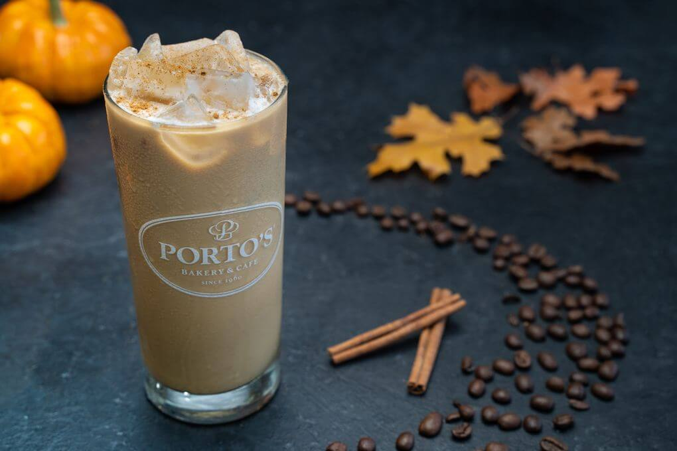 Iced Pumpkin Latte