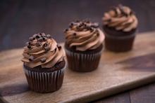 Parisian Chocolate Cupcake