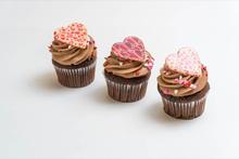 Mother's Day Parisian Chocolate Cupcake