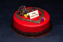 Mother's Day Strawberry Bavarian Mousse 9″