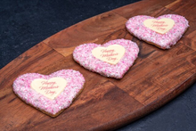 Mother's Day Decorated Heart Cookie