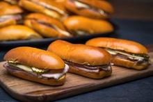Mini Medianoche Sandwich Platter
