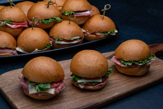 Mini Italian and Mini Pastrami Sandwich Platter
