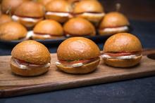 Mini Feta Cheese Sandwich Platter