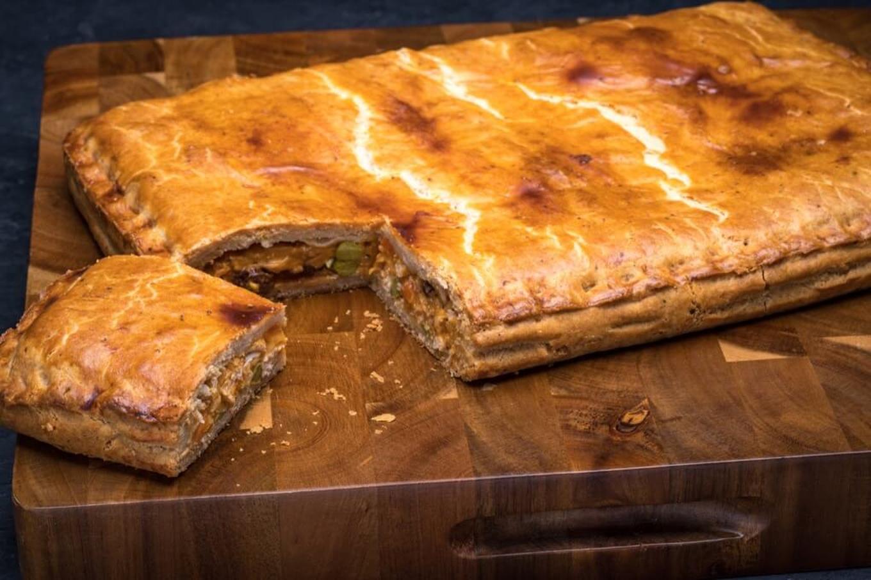 Large Chicken Pie (Empanada Gallega)