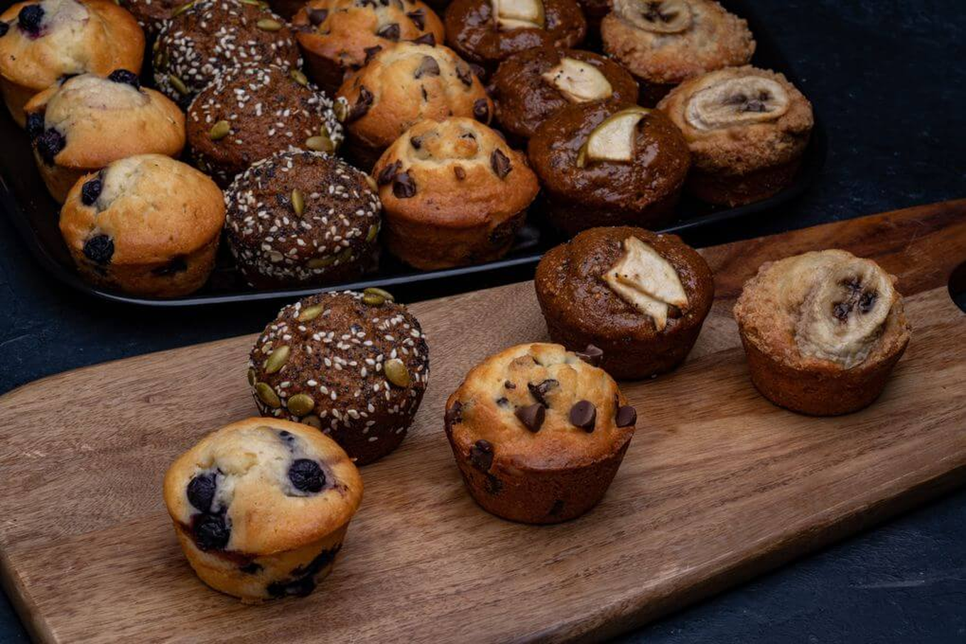 Image result for streusel muffin assortment