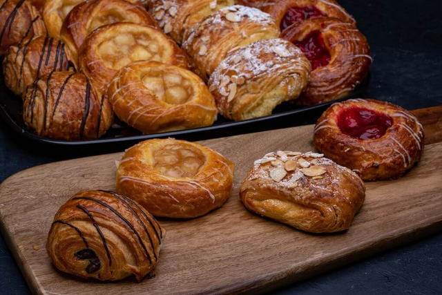 Mini Croissant and Danish Assortment Platter