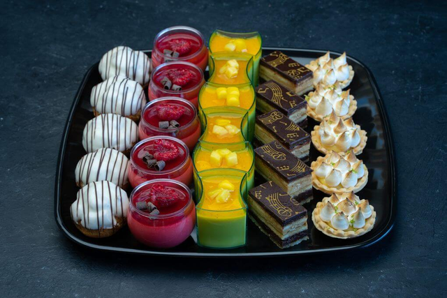 Fancy Mini Desserts Platter Small