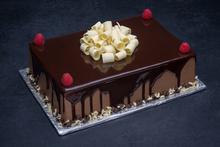 Chocolate Raspberry Cake 1/4 Sheet