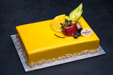 Mango Mousse Cake 1/4 Sheet