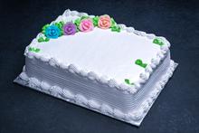 Cuban Cake 1/4 Sheet – Vanilla Custard Filling