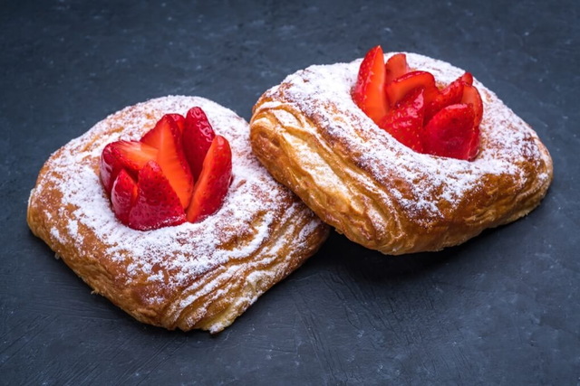Strawberry Cheese Croissant
