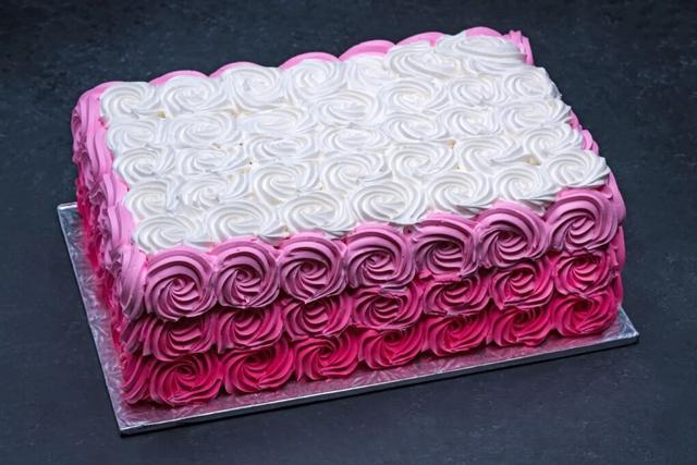 Ombre Pink Swirls Sheet #3816