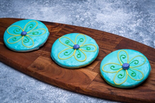 Decorated Flower Cookie