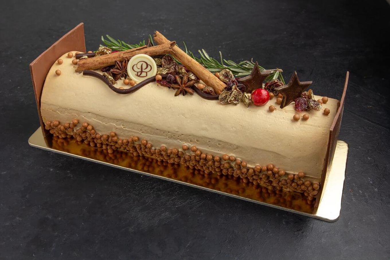Holiday Yule Log – Mocha