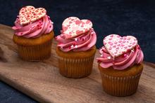 Valentine's Day Strawberry Cupcake