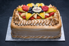 Meringue Fruit Torte 1/2 Sheet