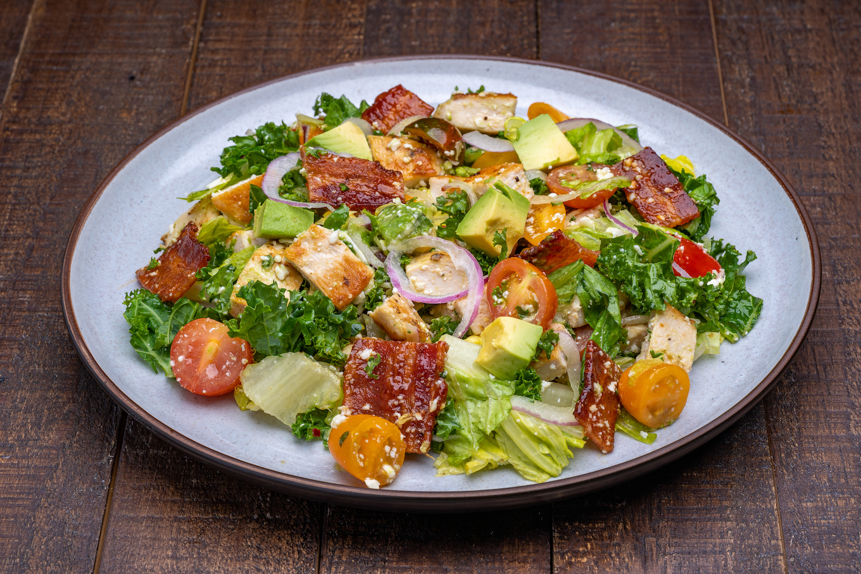 Rustic Chopped Chicken Salad
