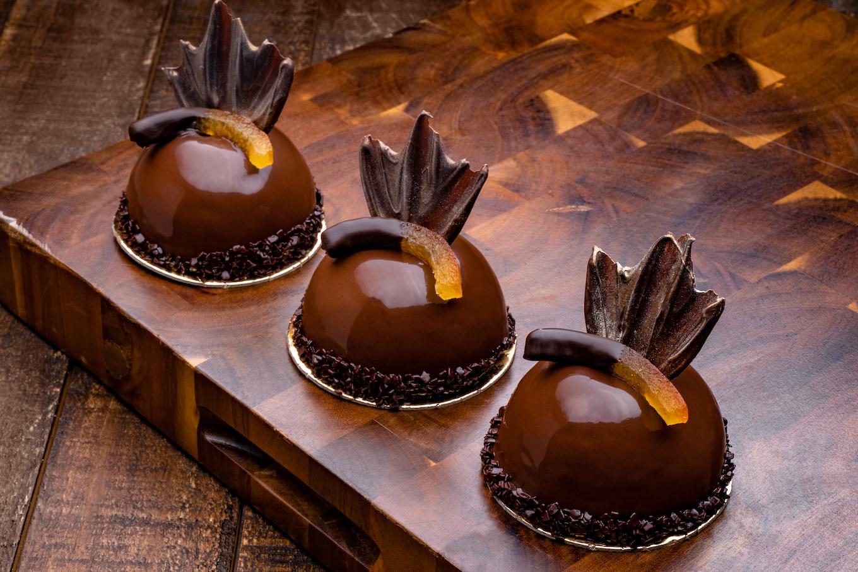 Grand Marnier Chocolate Bomb